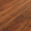 Amish Wellington Trestle Dining Table Top Detail