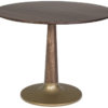 Amish Bowie Dining Table Gold Base