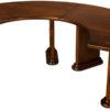 Amish Fan Executive Table Semi-Circle
