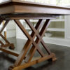 Amish Heyerly Dining Table Side