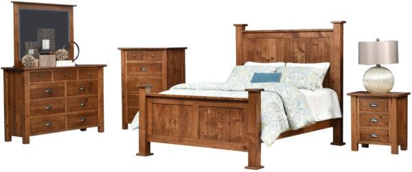 Amish Loretta Bedroom Set
