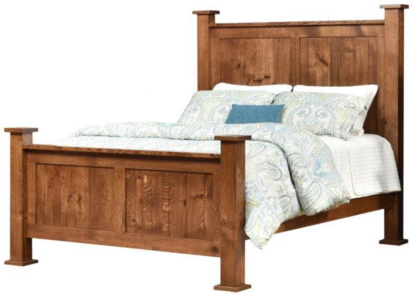 Amish Loretta Mission Bed