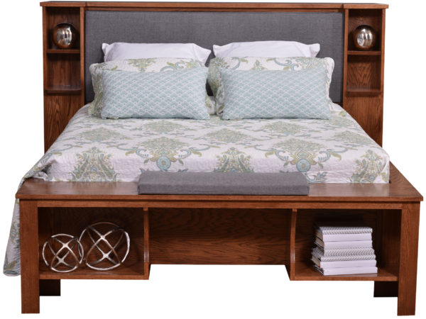 Front View of Mayfield Bed