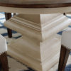 Amish Normandy Dining Table Base