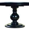 Amish Stanton Round Table Detail