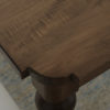 Amish Tuscany Dining Table Corner Detail