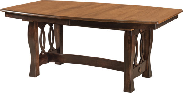Amish Cambria Trestle Dining Table