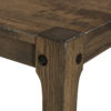 Amish Durango Leg Table Detail