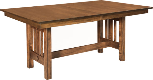 Amish Eco Trestle Dining Table