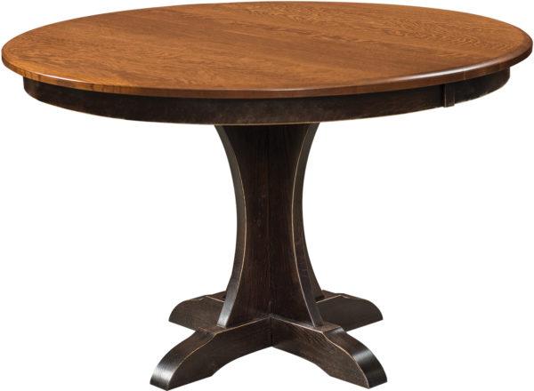 Amish Ellis Single Pedestal Table