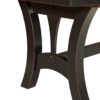 Amish Grand Island Trestle Table Detail