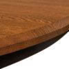 Amish St. Charles Single Pedestal Table Detail