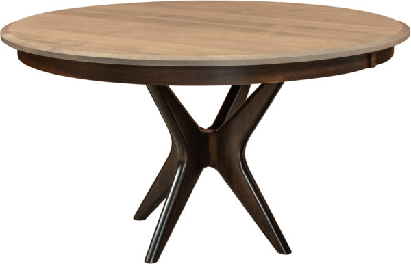 Amish West Newton Single Pedestal Table