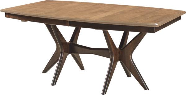 Amish West Newton Trestle Dining Table