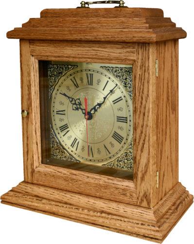 Amish Oak Antique Shelf Clock