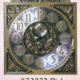 Whittington Grandfather Clock with #73872 Dial with Arabic Numerals/Brass Dial/Silver Ring