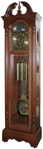 Custom Whittington Cherry Grandfather Clock