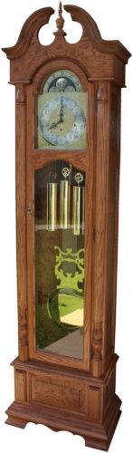 Amish Oak Harrington Grandfather Clock