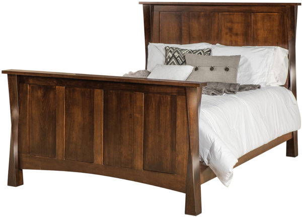 Amish Lexington High Bed