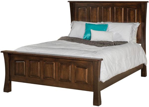Amish Vandalia Five Panel Bed