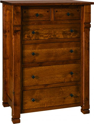 Amish Brockport Six Drawer Chest