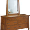 Amish Cambridge Seven Drawer Dresser