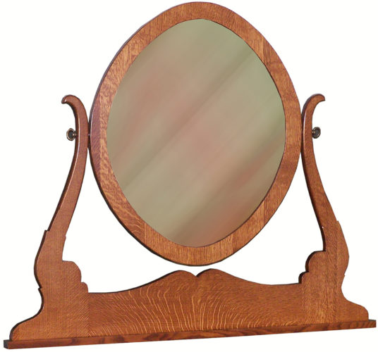Custom Granny Mission Oval Mirror
