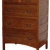 Amish Granny Mission Five Drawer Chest