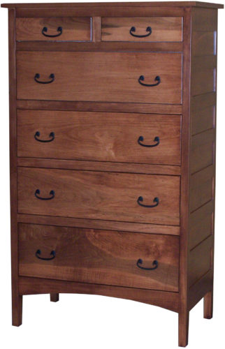 Amish Granny Mission Tall Chest