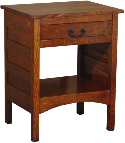 Amish Granny Mission Wide Open Nightstand