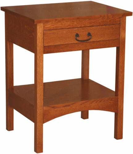 Amish Granny Mission Open Leg Nightstand