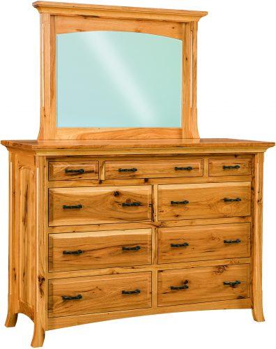 Amish Homestead Nine Drawer Mule Dresser