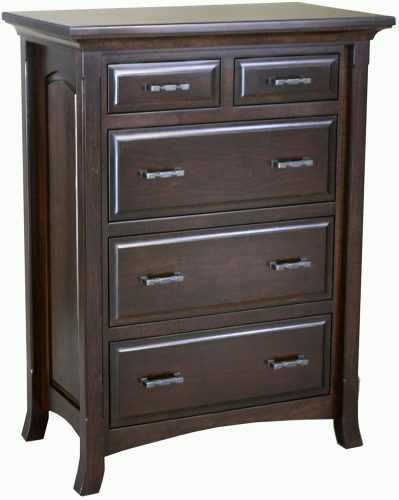 Amish Homestead Five Drawer Chest