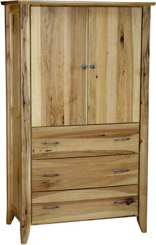Amish Jaymont Three Drawer Armoire