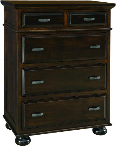 Amish Kountry Treasure Five Drawer Chest