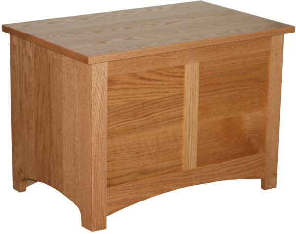 Amish Shaker Oak Toy Chest
