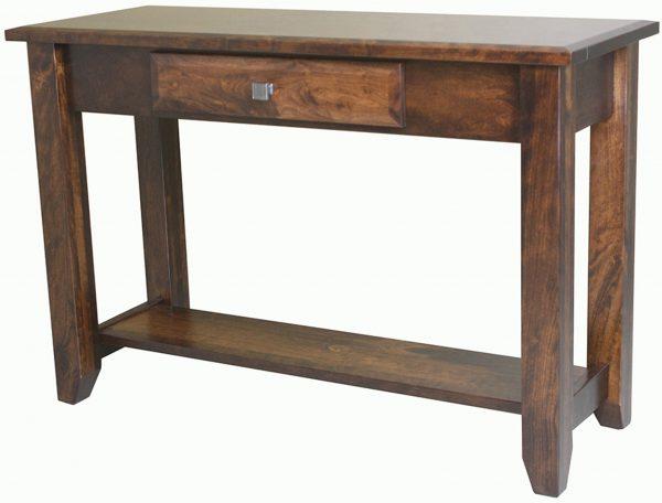 Amish Ashton Open Sofa Table