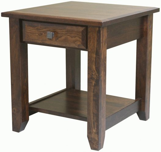 Amish Ashton Large Open End Table
