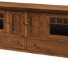 Amish Four Door Brockport Plasma TV Stand