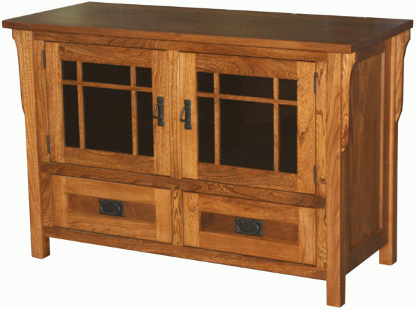 Amish Small Craftsman TV Stand