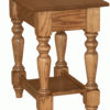 Amish Small Grand Harvest End Table without Drawer