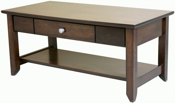 Amish Jaymont Open Coffee Table
