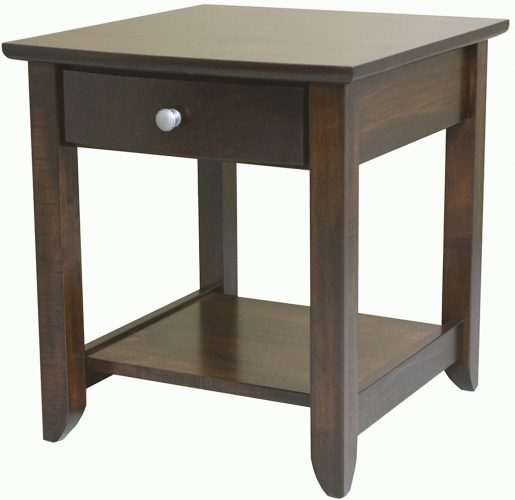 Amish Jaymont Wide End Table
