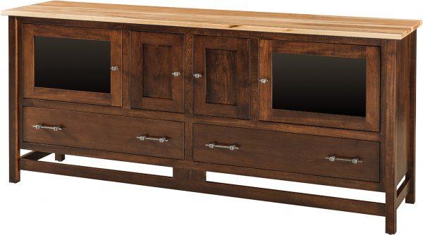 Amish Extra Large Lakota Plasma TV Cabinet