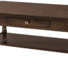 Amish Lexington 1 Drawer Coffee Table