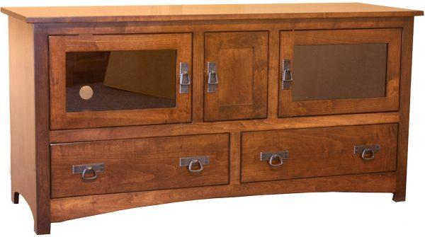 Amish Large Shaker Plasma TV Cabinet