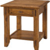 Amish Tacoma Large End Table