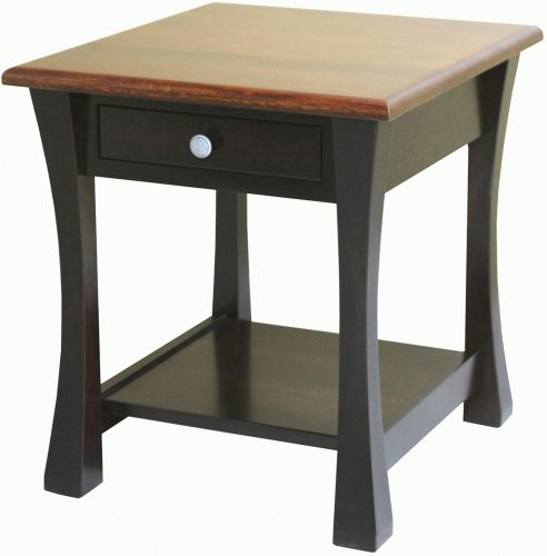 Amish Large Vandalia End Table