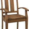 Amish Aspen Arm Dining Chair