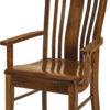 Amish Bennett Arm Dining Chair